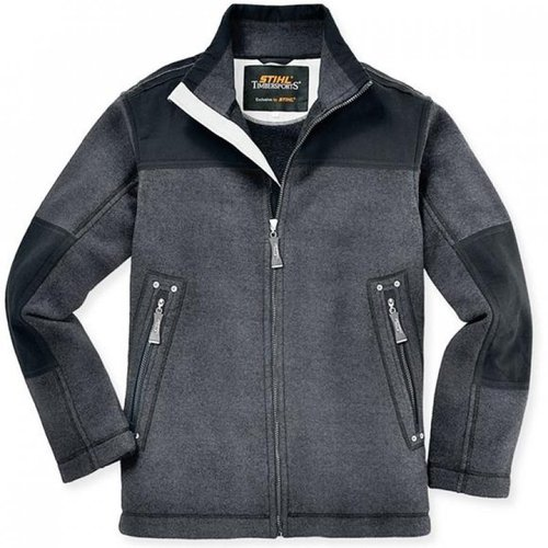 Stihl Canvas Fleece Jacke Timbersports